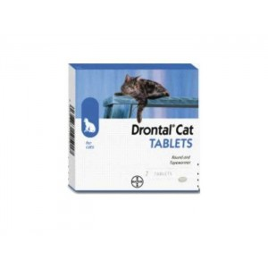 Drontal Cat 2 tablete / cutie