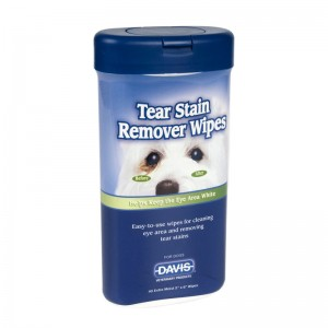 TEAR STAIN REMOVER  WIPES x 40 buc